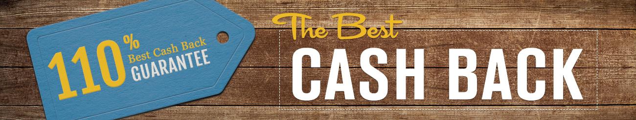 110% Cash Back Guarantee