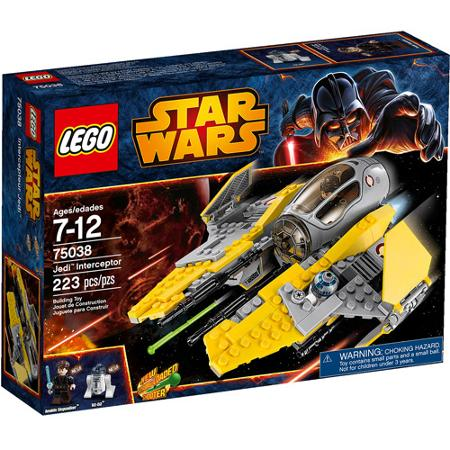 LEGO Star Wars Jedi Interceptor Play Set