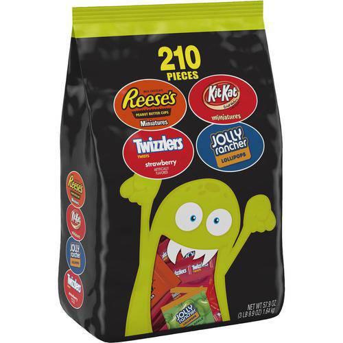 Hershey 210 Count Halloween Candy Assortment