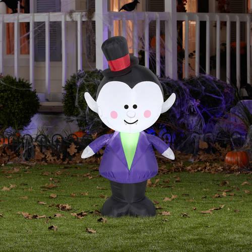 Cute Outdoor Vampire Halloween Inflatable