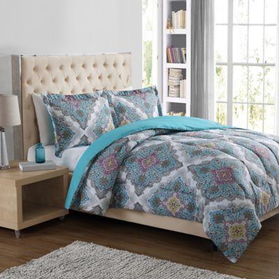 Paisley Medallion 3-Piece Comforter Set